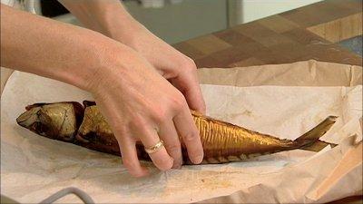 gestoomde of gerookte makreel